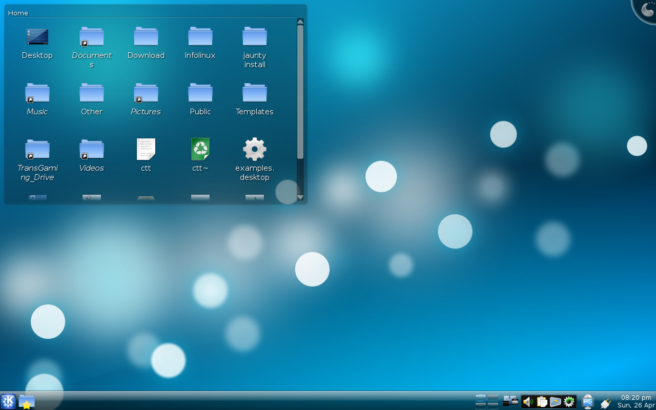Simple how to install kde 4 x on ubuntu 9 04 abz s note