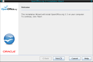 OpenOffice Installation Wizard